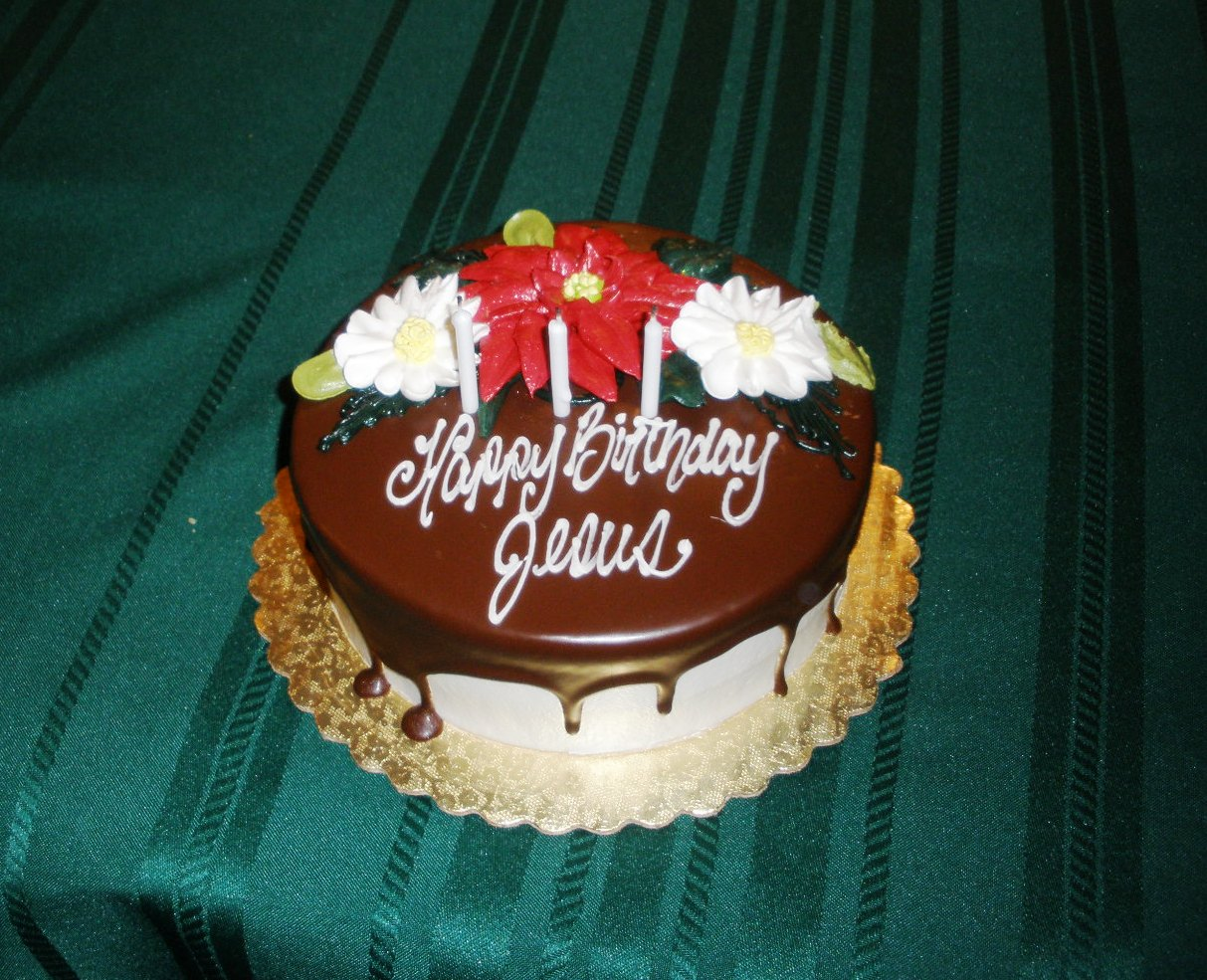 Do You Have A Birthday Cake For Jesus At Christmas Grandparenting